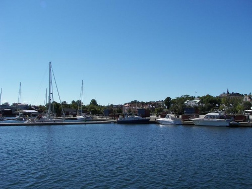 Hafen in Oskarshamn
