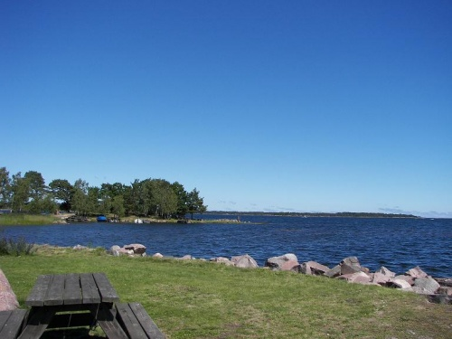 Strand in Påskallavik
