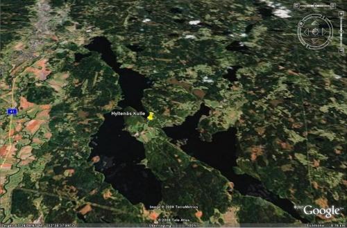 Google Earth - Hyltenäs Kulle