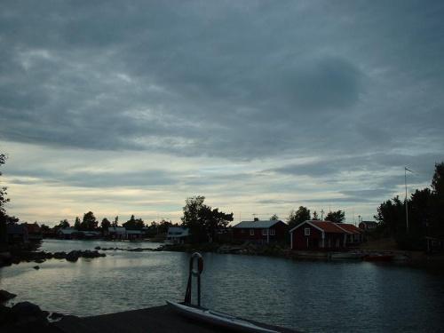 Fischerdörfchen an der Ostküste Schwedens