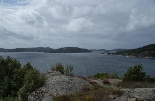 Blick auf eine Bucht im Kattegat