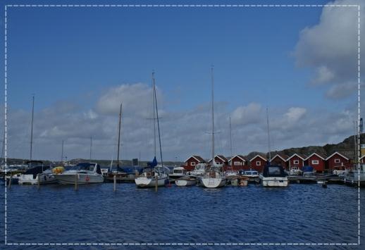 kleiner Hafen in kleiner Bucht...