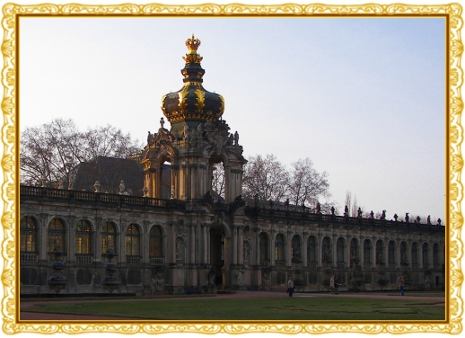 Zwinger-Kronentor Dresden