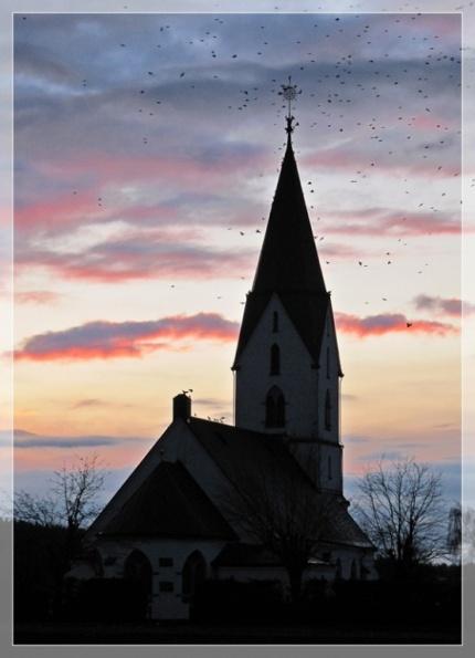 Kirche in Hyssna - 30. November 2009