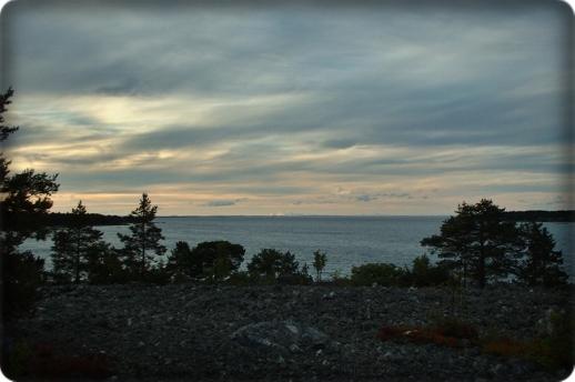 Abenddämmerungan Schwedens Ostküste
