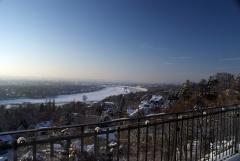 Blick vom Balkon Dresdens