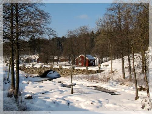 Brücke in Hyssna