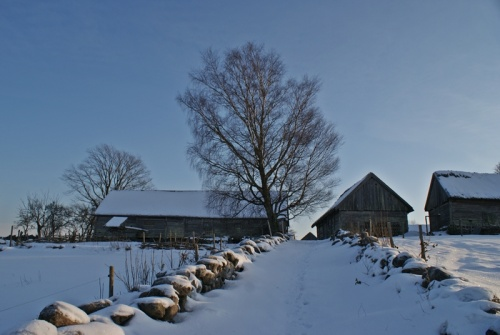 Winter in Äskhults By 6