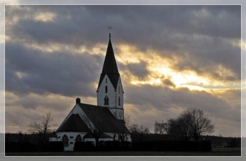 Kirche in Hyssna