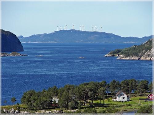 Norwegen - Fjord Oploe