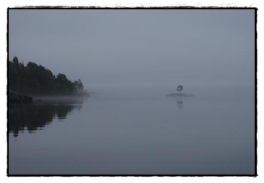 Nebel am Vättern
