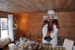 Julmarknad i Äskhults by 5