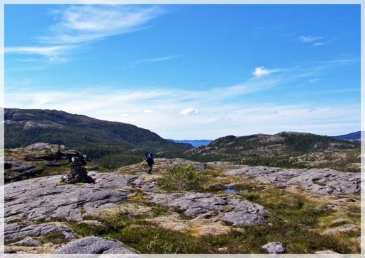 im norwegischen Fjell...