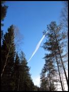 blauer Himmel Anfang März
