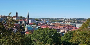 Göteborg von oben, Schweden